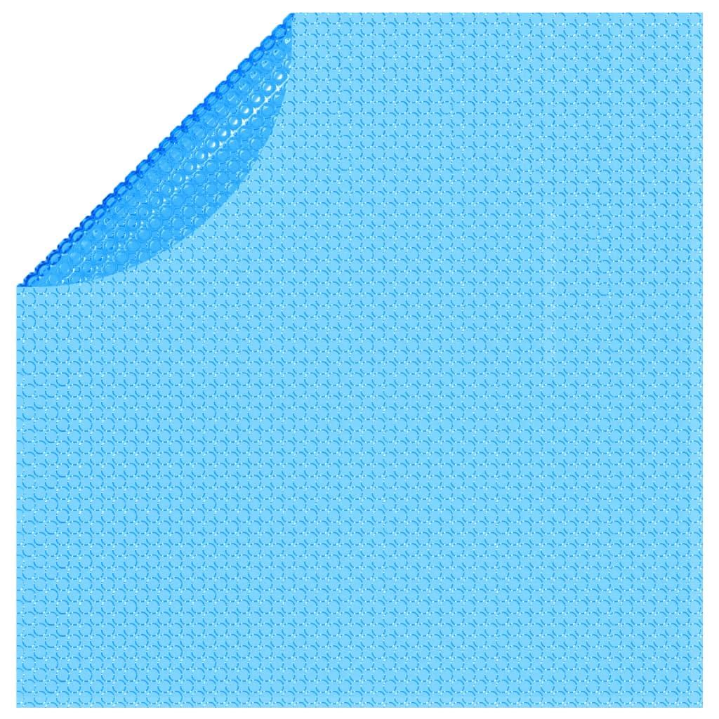 Afbeelding van vidaXL Solar zwembadfolie drijvend rond 455 cm PE blauw