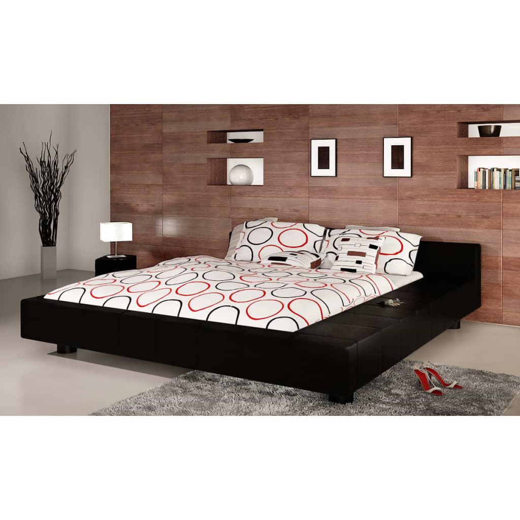 Koženková postel 180 x 200 cm
