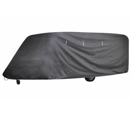 vidaXL Caravan Cover Gray S[2/6]