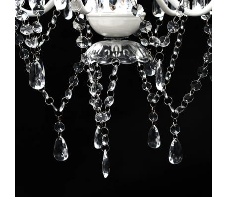 Lustre en cristal transparent[6/11]
