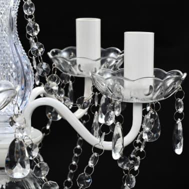 Lustre en cristal transparent[7/11]