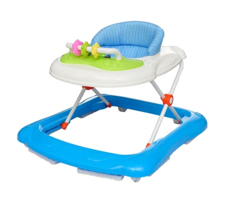 vidaXL Baby Walker Blue