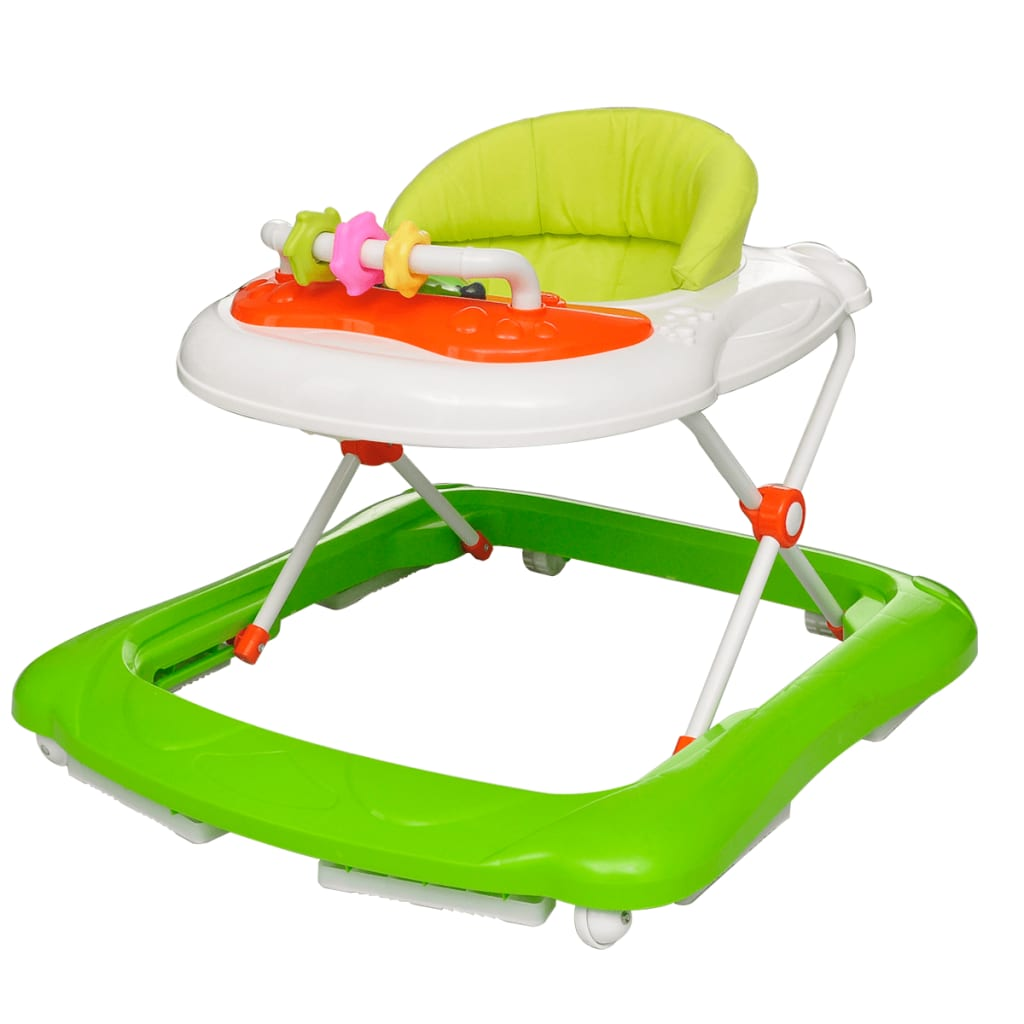vidaXL Baby walker green kids Child durable