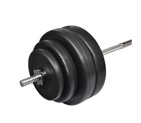 Painonnostotanko ja Painot 60 kg[3/4]