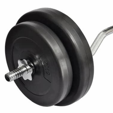 Haltère 30 kg avec poids[3/4]