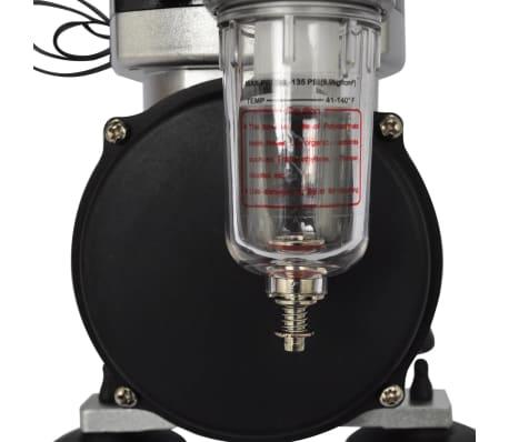 vidaXL Airbrush-compressorset met 2 pistolen[5/6]