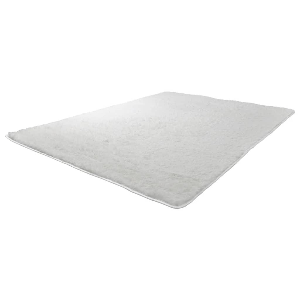 Afbeelding van vidaXL Hoogpolig tapijt creme 200 x 290 cm