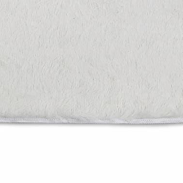 acheter tapis poils long touffu cr me 200 x 290 cm 2600g m2 pas cher. Black Bedroom Furniture Sets. Home Design Ideas