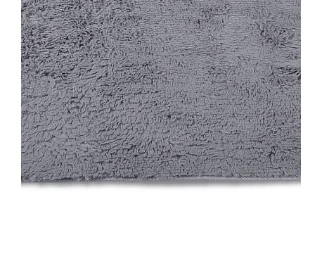 tapis poils long touffu gris 120 x 170 cm 2600g m2. Black Bedroom Furniture Sets. Home Design Ideas