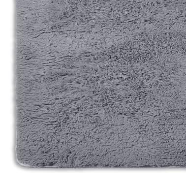acheter tapis poils long touffu gris 200 x 290 cm 2600g m2 pas cher. Black Bedroom Furniture Sets. Home Design Ideas
