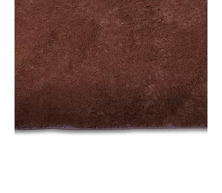 tapis poils long touffu marron 200 x 290 cm 2600g m2. Black Bedroom Furniture Sets. Home Design Ideas