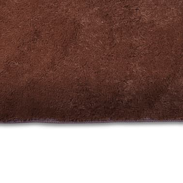 tapis poils long touffu marron 160 x 230 cm 2600g m2. Black Bedroom Furniture Sets. Home Design Ideas