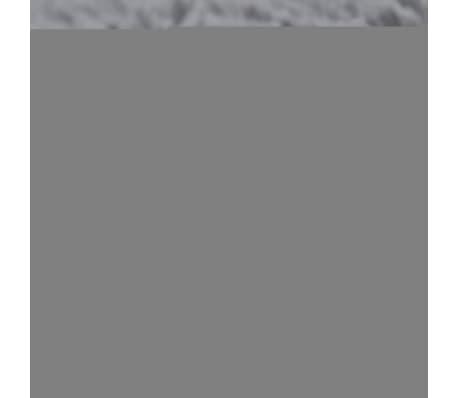 tapis poils long touffu gris 160 x 230 cm 2600g m2. Black Bedroom Furniture Sets. Home Design Ideas
