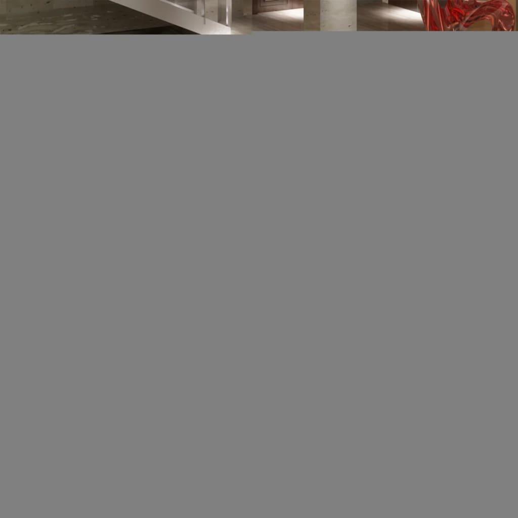 Koberec vysoký vlas 160 x 230 cm - váha 2600 g / m² - šedý