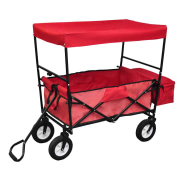 Foldable Hand Truck with Roof[1/5]
