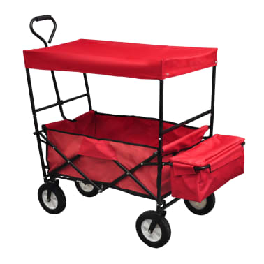 Foldable Hand Truck with Roof[3/5]