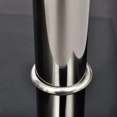 vidaXL Konferenční stolek sklo, 2 patra[3/5]