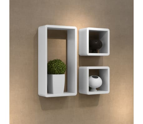 Cuboid shelf set of 3[1/5]