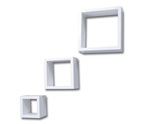 Cube shelf set of 3 white[4/6]
