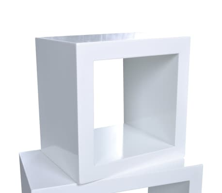 Cube shelf set of 3 white[5/6]