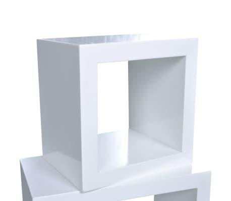 Etagères Design Murale 3 Cubes blanc[5/6]