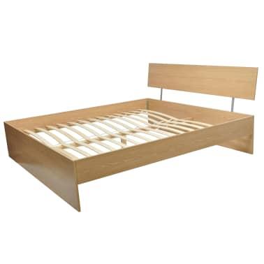Vidaxl Rama łóżka Drewniana 140 X 200 Cm Sklep Internetowy