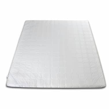 acheter surmatelas en mousse blanc 180 x 200 cm pas cher. Black Bedroom Furniture Sets. Home Design Ideas
