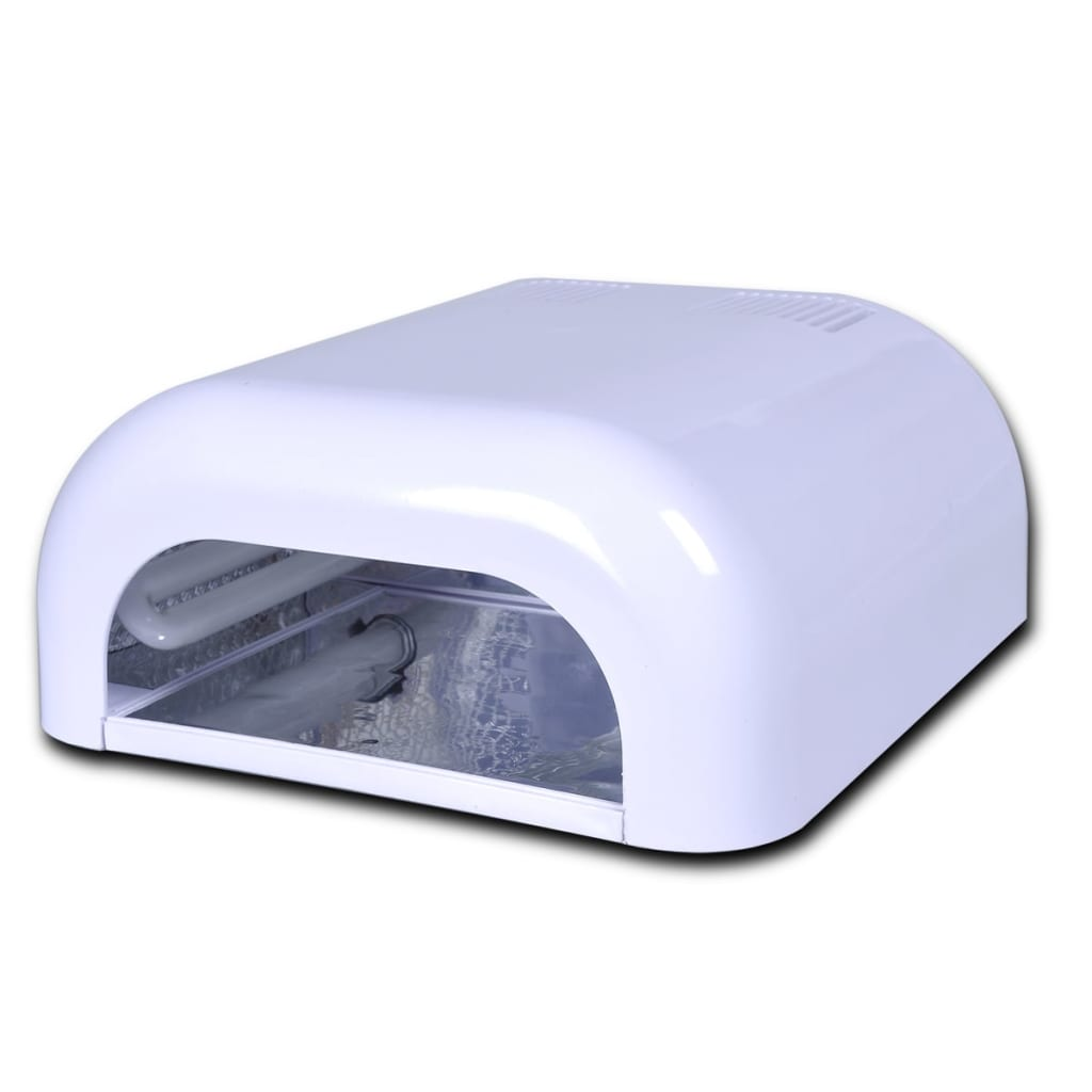 vidaXL 36W UV Gel Curing Lamp Light Nail Dryer(4 x 9W bulb included)