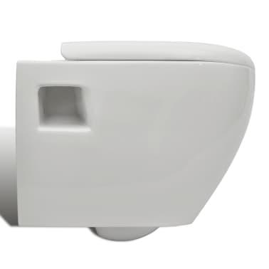 Inodoro blanco de pared empotrable for Inodoro pared