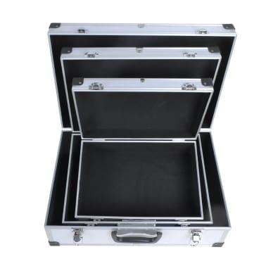 3in1 aluminium koffer abs werkzeugkoffer g nstig kaufen. Black Bedroom Furniture Sets. Home Design Ideas