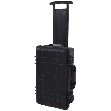 Wheel-equipped Tool/Equipment Case with Pick & Pluck[1/6]