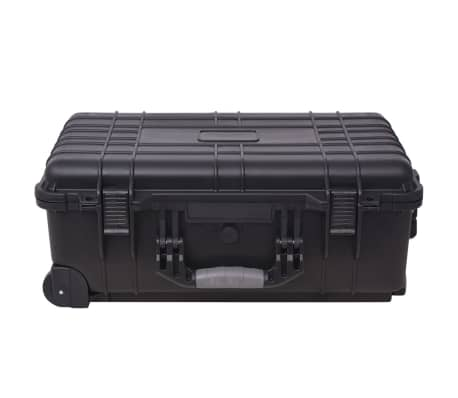 Wheel-equipped Tool/Equipment Case with Pick & Pluck[3/6]