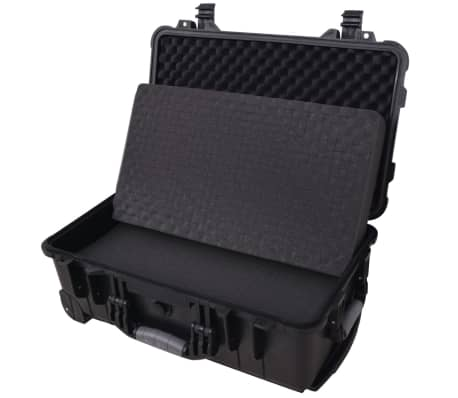 Wheel-equipped Tool/Equipment Case with Pick & Pluck[4/6]