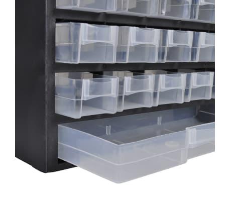 vidaXL Armoire à outils avec 41 tiroirs Plastique[2/3]