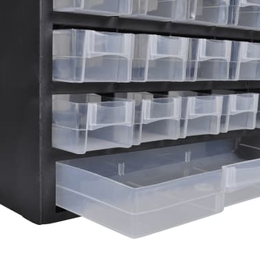 vidaXL 41-Drawer Plastic Storage Cabinet Tool Box[2/3]