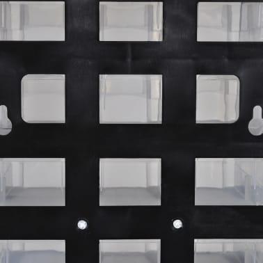 vidaXL Armoire à outils avec 41 tiroirs Plastique[3/3]