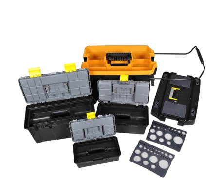 Tool Case Set 4 Different-sized Cases[2/11]