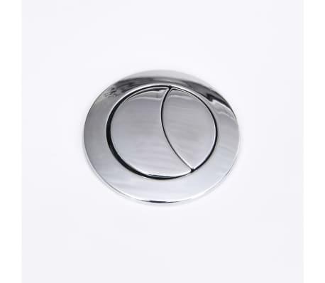 WC Kylpyhuone Neliö Keraaminen Valkoinen Ainutlaatuinen WC[6/6]