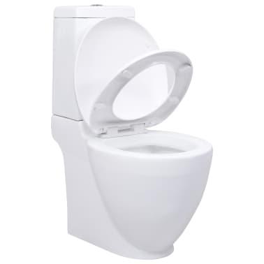Baderom Keramikk Hvit Spesielt Design Toalett[2/6]