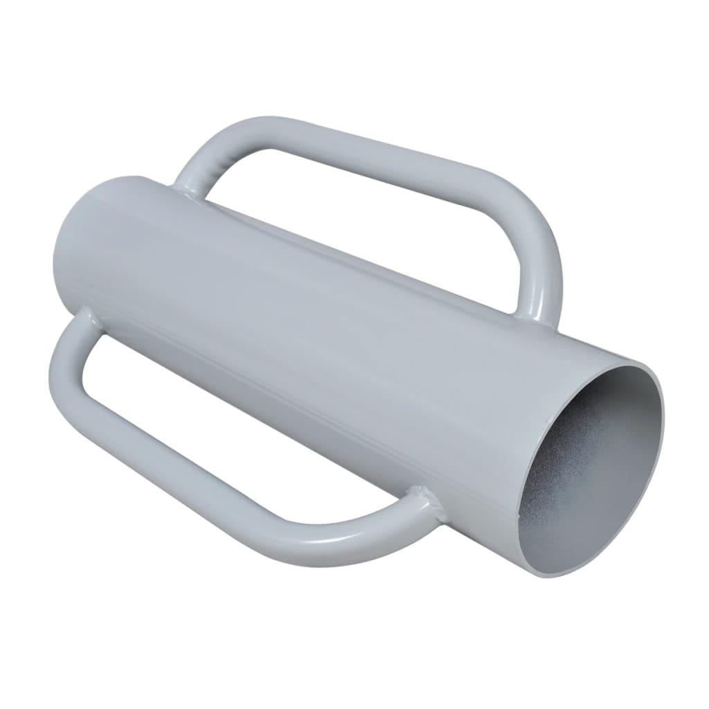 vidaXL Zatloukač kůlů ruční beranidlo s rukojeťmi ocel
