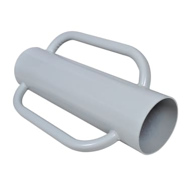 vidaXL Paalstamper met handvatten staal[1/2]