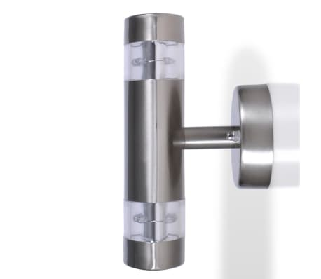 LED Wall Light Lamp Indoor & Outdoor Stainless Steel[3/5]