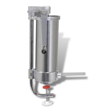 Wurstspritze Wurstfüllmaschine Edelstahl manuell 3,5L[2/6]