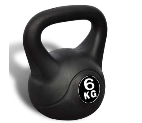 Kettlebell Kugelhantel Trainingshantel Gewicht 6KG[3/3]