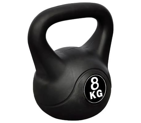 Greutate tip bilă cu mâner Kettlebell 8 kg