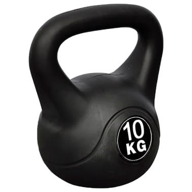 Greutate tip bilă cu mâner Kettlebell 10 kg[1/3]