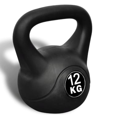 Greutate tip bilă cu mâner Kettlebell 12 kg[3/3]