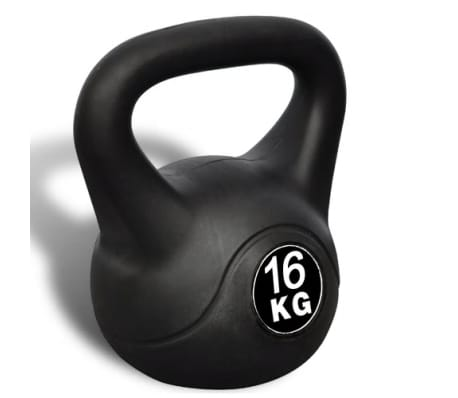 Greutate tip bilă cu mâner Kettlebell 16 kg[2/4]