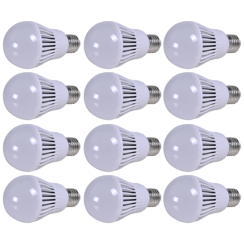 LED žárovka, teplá bílá barva