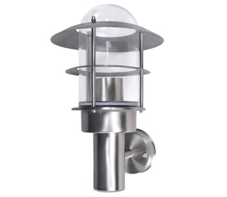 Patio LED Wandleuchte Lampe Edelstahl Außenlampe[2/6]